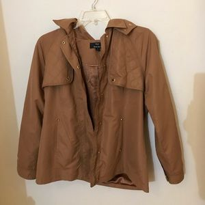 Jackets & Blazers - Tan raincoat